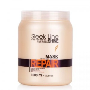 Stapiz sleek line repair maska z jedwabiem 1000ml